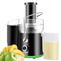 2 Speed Wide Mouth Fruit & Vegetable Centrifugal Electric Juicer  - $51.59