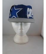 Dallas Cowboys Hat (VTG) - All Over Logos by Logo Athletic -Adult Snapba... - $110.00