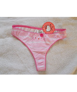 Hello Kitty Sanrio Thong Panties Size 6/M Pink ... - $12.82