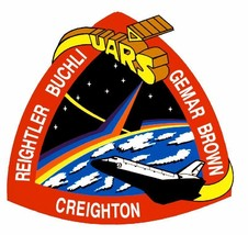 STS-48 Nasa Discovery Sticker M602 Space Program - $1.45+