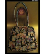 LAUREL BURCH Cat Tapestry large  TOTE Bag - Story Weavings  - $39.00