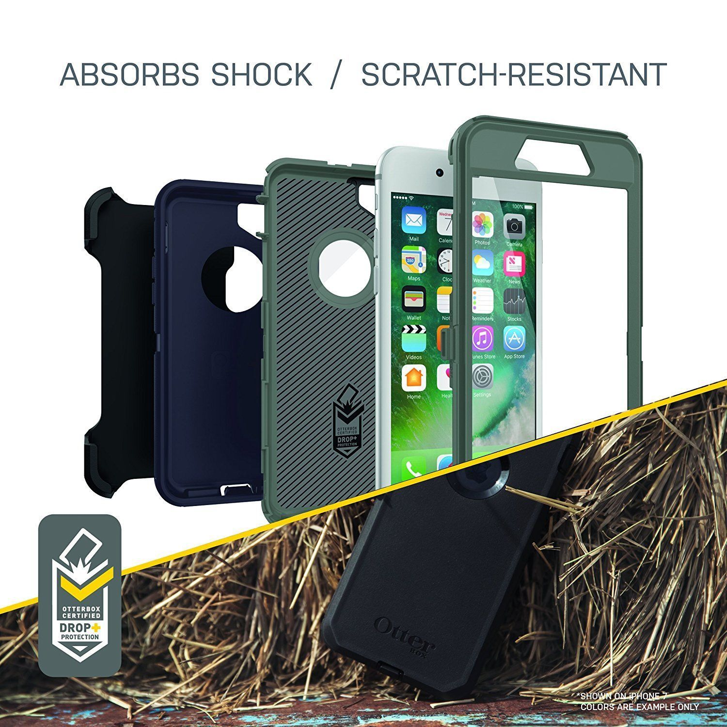 Authentic Original Otterbox Defender Series For iPhone 8 Plus and iPhone 7 Plus