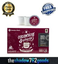 Members Mark Colombian Supremo Fresh Aroma Coffee 100 Single Serve K Cup... - $46.78