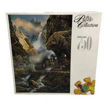 1998 RoseArt Puzzle Collection 750 Piece Rails to Pandora Jigsaw Puzzle ... - $19.99