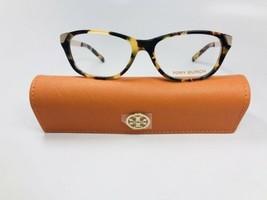 New Tory Burch TY 2005 517 Havana & Gold Eyeglasses 51mm with Case - $74.30