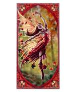 "ACK ANN Stokes Autumn Fairy Art Tile 4""x8"" 99064 - $9.99"