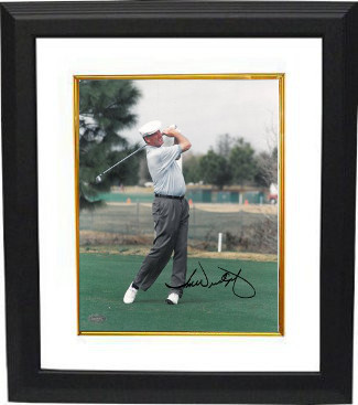 Primary image for Tom Weiskopf signed Golf 8x10 Photo- Mounted Hologram