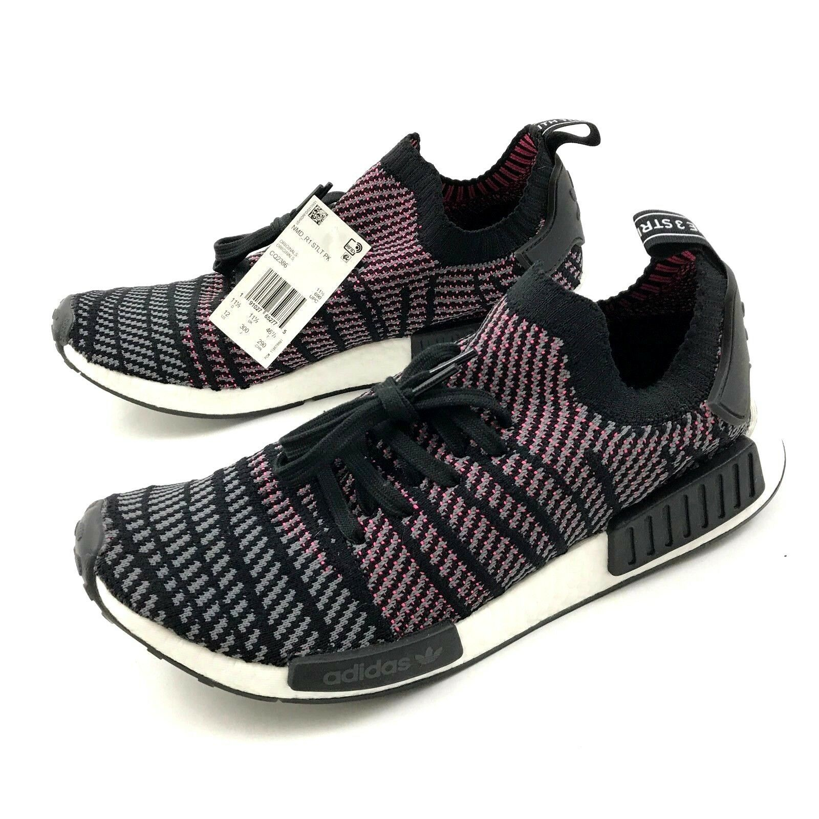 736045b21c25 57. 57. Previous. Adidas BOOST NMD R1 Shoes Mens Size 12 Low Top Lace Up  Primeknit Sneaker A