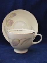 Homer Laughlin Eggshell Nautilus Cup & Saucer Very Nice - $8.00