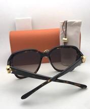 Polarized TORY BURCH Sunglasses TY 7125 1709/T5 Black Frame w/ Brown Gradient