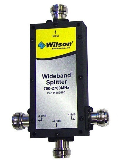 Primary image for Wilson 859980 3-Way 50 Ohm Splitter, 700-2700 Mhz with N-Female Connectors