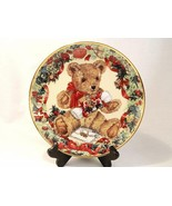 Franklin Mint's Limited Edition TEDDY'S FIRST CHRISTMAS Fine Porcelain 8... - $15.00