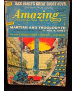 Amazing Stories August 1967 Pulp Jack Vance, Neil R. Jones, Jerome Bixby - $7.69
