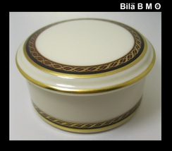 Vintage LENOX MONROE Round BOX with Lid - FREE SHIPPING - $30.00