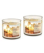2 Bath & Body Works Sweet Sunset Orange Creamsicle 3 Wick Scented Candle... - £32.61 GBP