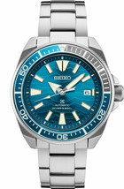 Seiko Automatic Prospex Samurai Blue Wave Divers 200M Men's Watch SRPD23 - $429.32 CAD