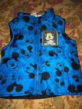 Disney Mickey Mouse Sweet Blue Vest Size 24M - $4.95
