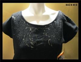 DANA BUCHMAN WOOL Knit Top - High End - Size XL - Free Shipping image 3