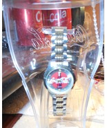 Coca-Cola Logo Wristwatch NOS Needs New Battery (Not Included) In Plasti... - £7.95 GBP