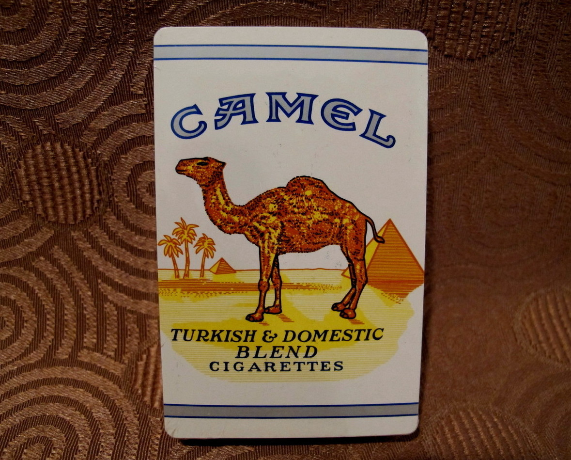 Camel Cigarettes Deck of Playing Cards Souvenir Collector Vintage Advertising