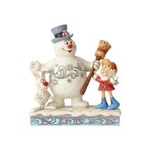 Enesco Jim Shore Frosty the Snowman Karen & Hocus Pocus New 2018 Figure 6001581 - $64.19
