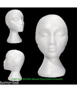 12pc Lot-Prop Costruzione Supply-Mannequin Heads-Halloween Costume Maschera - $79.17