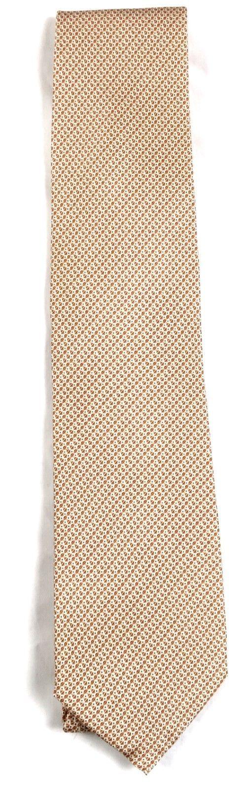 Tommy Bahama Men's Tie Classic Necktie 100% Silk Licensed Island Hop Orange