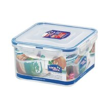 Lock&Lock 40-Fluid Ounce Square Food Container, Short, 5-Cup - $19.79