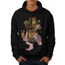 Animated Hunter Sweatshirt Hoody Funny Men Hoodie - $20.99+