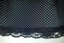 Gap Women's Zip Skirt Black w/ White Polka Dots Size 10 NWT  - $29.50