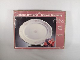 HAVILAND FLORAL SPLENDOR LARGE OVAL SERVING PLATTER NEW IN ORIGINAL BOX - $39.99