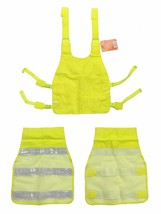 REFLECTIVE YELLOW SAFETY VEST EY01 ANSI CLASS 2 with Reflective Strips image 2