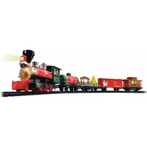 Extec North Pole Express Christmas Train 33 Pieces 39297 NEW - $64.99