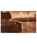 Vintage Postcard Ocean View Casino Casa del Rey Hotel Santa Cruz Califor... - $17.18