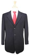 * ARMANI COLLEZIONI * Black Textured Wool 3-Btn Luxury ITALY Suit 40R - $174.30