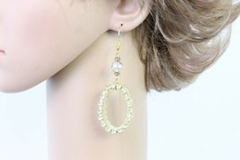 Women Fashion Yellow Drop Earrings - $5.89
