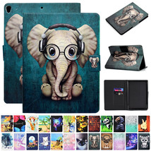 "For Samsung Galaxy Tab 10.1"" SM-T510 T515 2019 Pattern Leather Stand Cas... - $94.07"