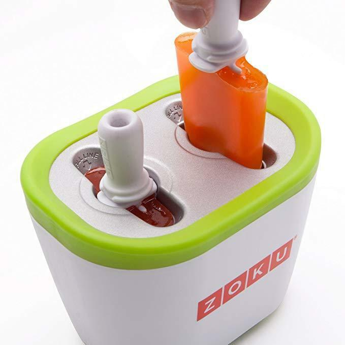 NEW IN BOX Zoku Quick Pop Maker - Create 6 Custom Frozen Popsicles in 7 Minutes!