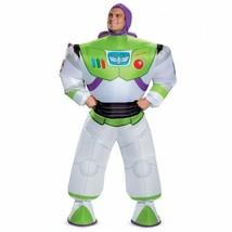 Disguise Toy Story Buzz Lightyear Aufblasbar Erwachsene Halloween Kostüm... - £48.42 GBP