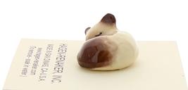 Hagen-Renaker Miniature Cat Figurine Siamese Kitten Sleeping Chocolate Point image 4