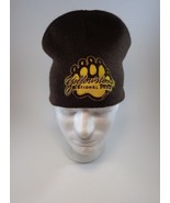 Yellowstone National Park Brown Knit Cap Hat One Size Historic Hike Walk... - $14.69