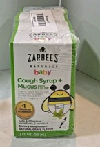 Set of 3: Zarbee's Naturals Baby Cough Syrup + Mucus Natural Grape Flavo... - $17.09