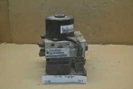 2000-2003 Chrysler Voyager ABS Pump Control OEM P04721427AE Module 307-12e6 - $49.99