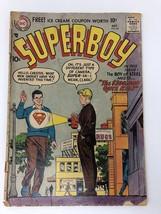Superboy (1949-1979 1st Series DC) #60 Low Grade - $21.78