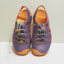 KEEN Big Girls Rio Purple /coral Fusion Sport Sandals Shoes Size US 3 - $29.00