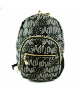 Cat & Jack Love Backpack Black & Gold New w/ Tags - $24.26