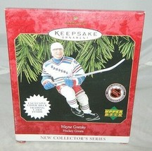 1997 Hallmark Keepsake Wayne Gretzky NHL Upper Deck Xmas Ornament - $19.80