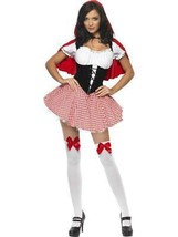 FEVER RED RIDING HOOD COSTUME, FANCY DRESS, SEXY, LARGE 12-14, WOMENS #CA - $50.18