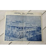 hotel du japon nagasaki Hotel single paper cruise French cuisine foreign... - $49.50