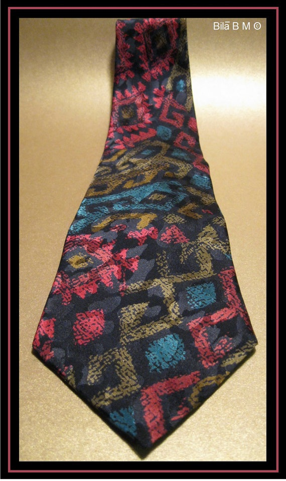 Primary image for ALFANI - 100% Italian Silk Tie - Handmade in USA - Free Shipping